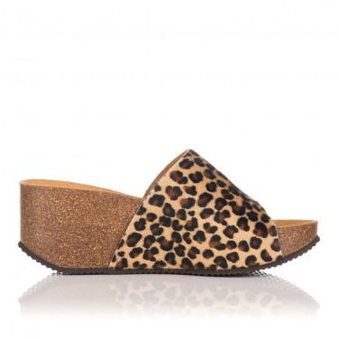 Sandalia Inora Leopardo