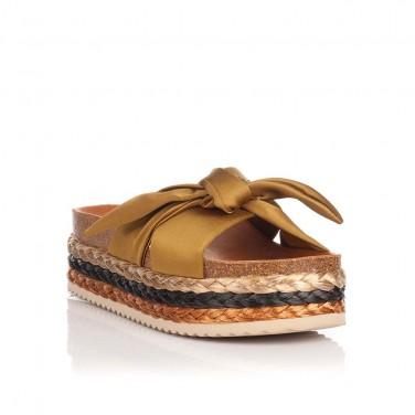 Sandalia Plataforma Maui Kaki