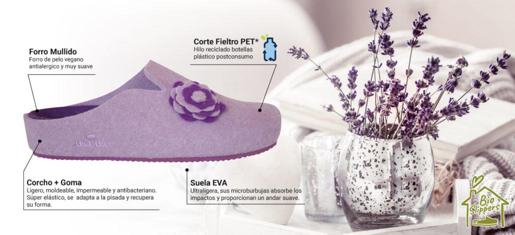 Zapatillas de Casa Ecofriendlys Bio Bio