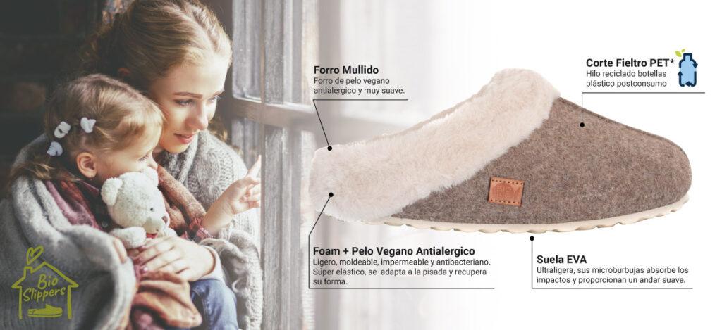 Zapatillas de Casa Sostenibles Bio Bio